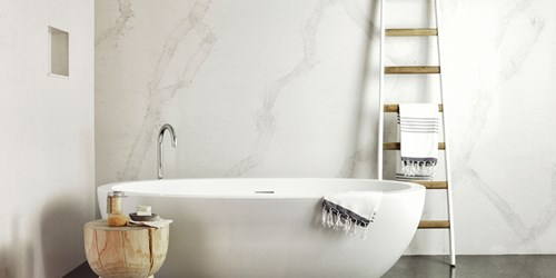 Fresh ideas with Caesarstone bathroom surfaces