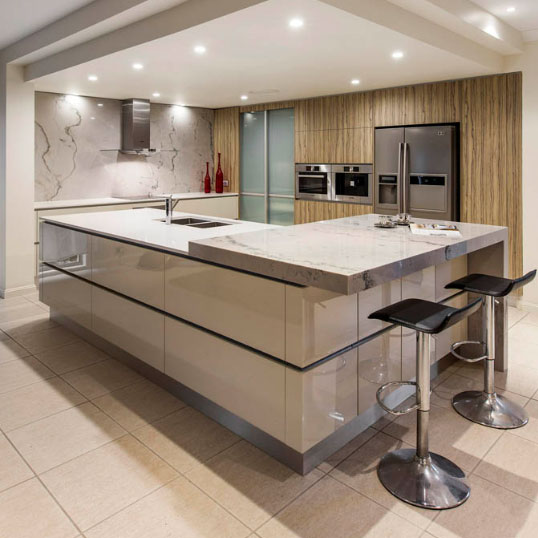 Black Benchtop Kitchen Designs: Caesarstone Kitchen & Bathroom Renovations